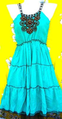 Shop online with import factory wholesale company. Aqua colored summer